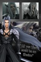 Final fantasy wallpapers~ Sephiroth by Emeraldfire131