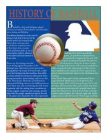 Baseball Magazine page by Luisolivo22