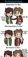 Supernatural in a nutshell by Francchi