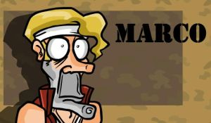 Metal Slug:Marco by Angry-Banana