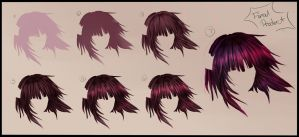 Hair Tutorial - Step by Step by ka-rael