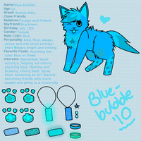 Blue Bubbes Reference by realwarriorfrosty