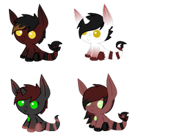 Zenyu Foals for PaintSet (Closed) by xXSinfulAdoptsXx