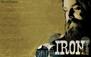 Iron and Wine - Wallpaper by cassiocv