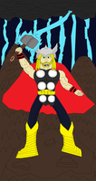 Thor - God Of Thunder by Big-K-2011