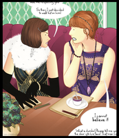 Clara and Donna: Gossip by ice-cream-skies