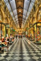 Melbourne City Malls HDR by DanielleMiner