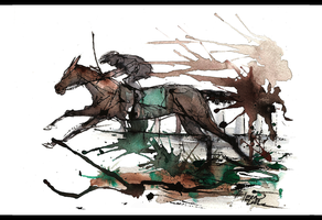 Through the Mud by 1pen