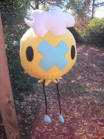-larger than life- Shiny Drifloon Plush by Jacqueline-Victoria
