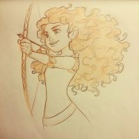 Merida by pixonsalvaje