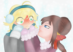 Incoming Kiss! by Annedwen