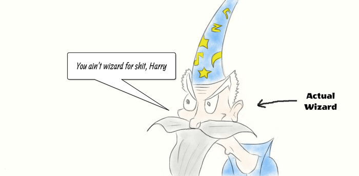 Pissy Wizard by YuriPRIMEpl