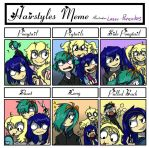 Hairstyle meme [filled] by Laser-Pancakes