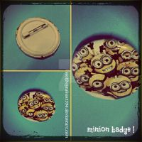 Minion Badge by wolfboytakao1594