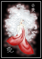 AlidaART trade: white maiden by Semiramis