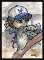 Lil Short Round Sketchcard by lordmesa