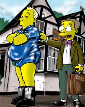 Smithers in Little Britain. by jlfletch