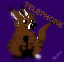 Telephone Colored (old art) by BeccaRedPanda