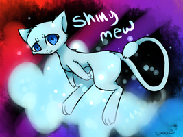 Shiny Mew +SPEEDPAINT by Shiiruba