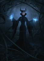 Maleficent by MirellaSantana