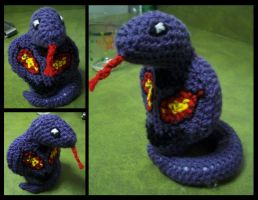 A Wild ARBOK Appeared by AtmcNmbr80
