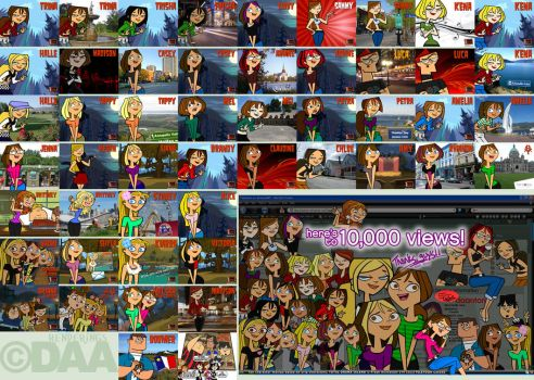A Tribute to TOTAL DRAMA Fans Past and Present by daanton