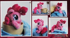Cute Pinkie Pie plush by KetikaCraft
