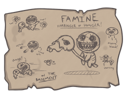 Issac's Log - Famine by dualbloodlines