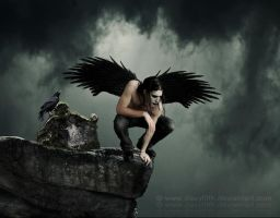 The crow by davy-filth