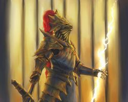 Dragonslayer Ornstein by Theocrata