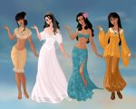 Non/Disney Goddesses - N by M-Mannering