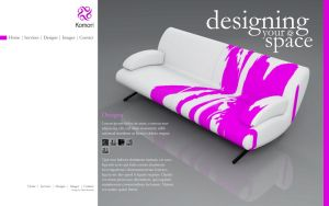 Design Web Site Komori 3 by pablorenauld