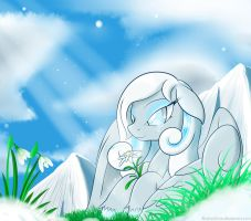 A Prayer of the Heart by BluDraconoid