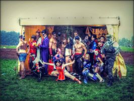Tekken Group by C4ppi3