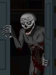 Man In The Closet by SaydousArtCorner