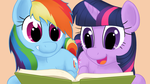 Friendship is Reading by Poniker