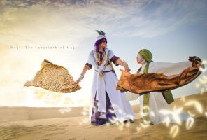 Magi -  King and Chief by Hikari-Kanda