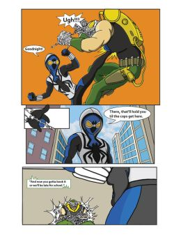 Spiderman Weaver Comic pg10 by KGH786