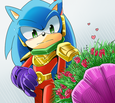 Zonic by colour-ice