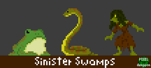 Sinister Swamps: Creature Pack Preview by Zombie-Kawakami