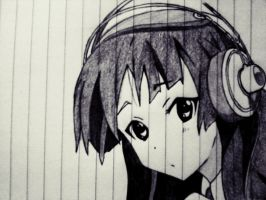 MIO K-on by Deathpool-L