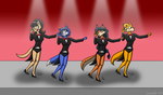 POINT COMMISSION: Tap Girls by JDE10
