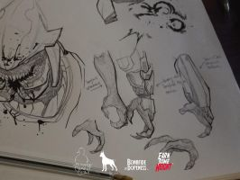 Sangheili Major Concept Work by EarnSomeHeight