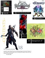 Inside of Gameinformer: Table of Contents - by Steamland