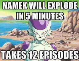 Namek will Explode in 5 minutes.... by XDarkDave1040