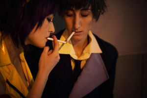 Real Folk Blues - Cowboy Bebop by Mostflogged