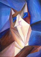 Picasso's Cat by TrollGirl