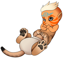 Baby Sphinx by SillyEwe