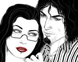 Malin and William - detail by LeafOfSteel
