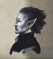 Morrowind faces: Orvas Dren by RisingMonster